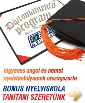Már lehet jelentkezni az ingyenes Diplomamentő nyelvtanfolyamokra!