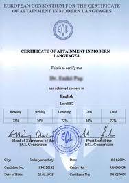 Átvehetők a decemberi ECL nemzetközi bizonyítványok