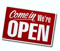 Már szombaton is nyitva vagyunk!
